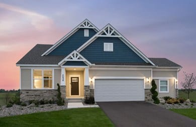 New construction homes lakeville