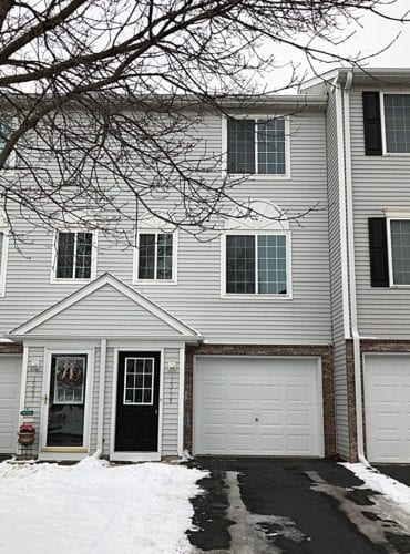 townhome for sale front photo