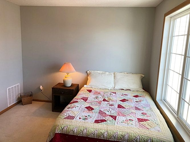 townhome for sale master bedroom