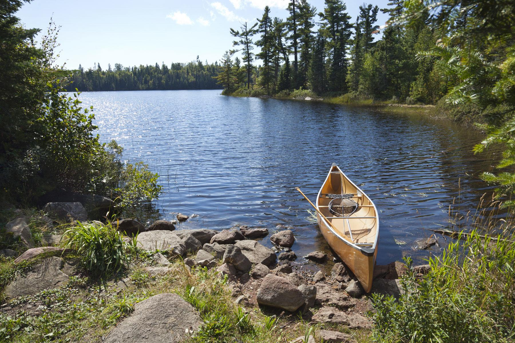 Canoeing in the boudary waters