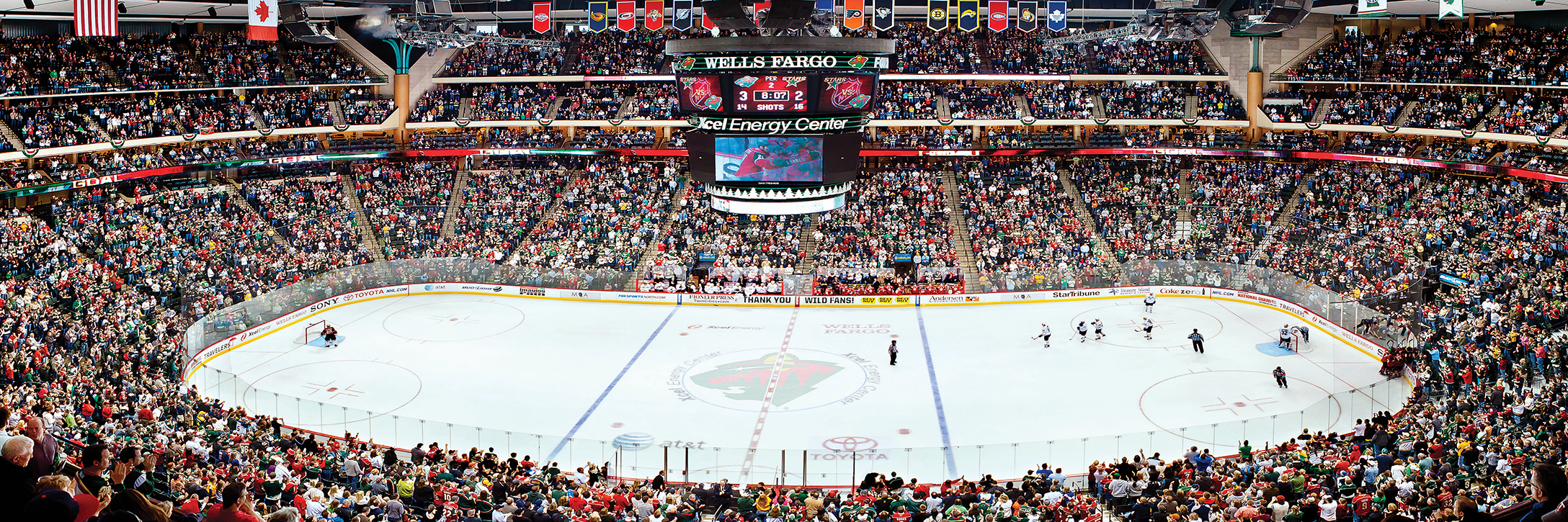 Minnesota wild hockey game