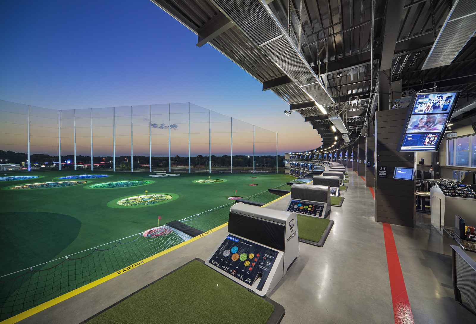 TOPGOLF in Brooklyn Center