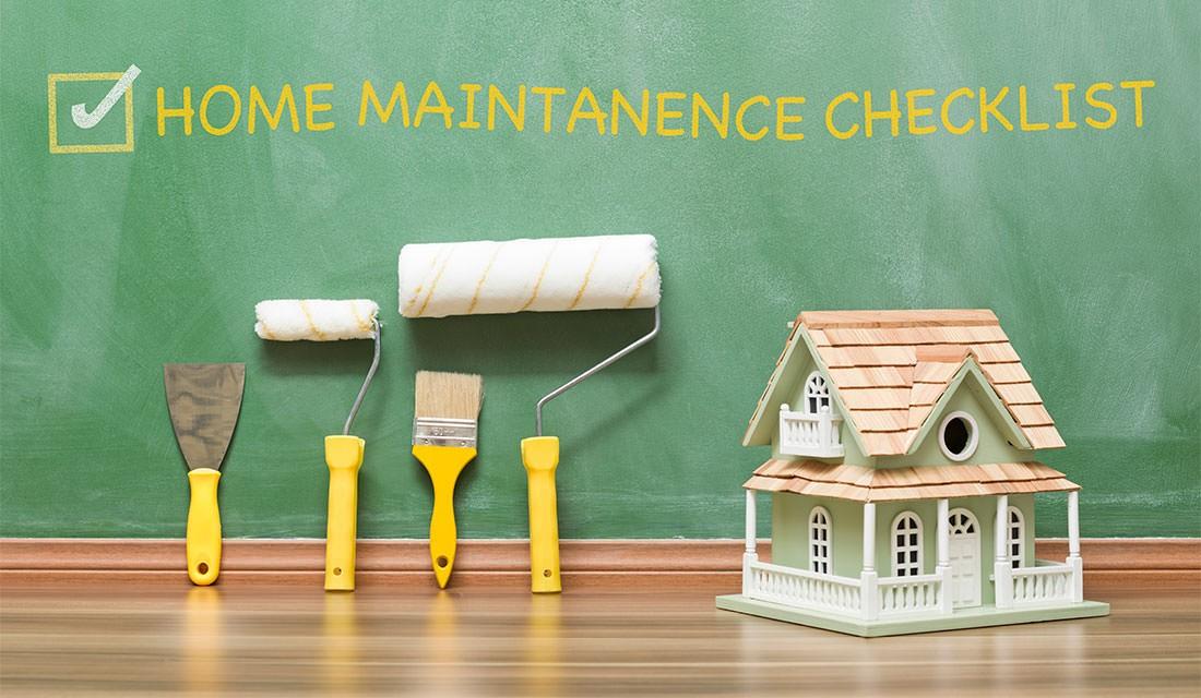 maintenance program for your home