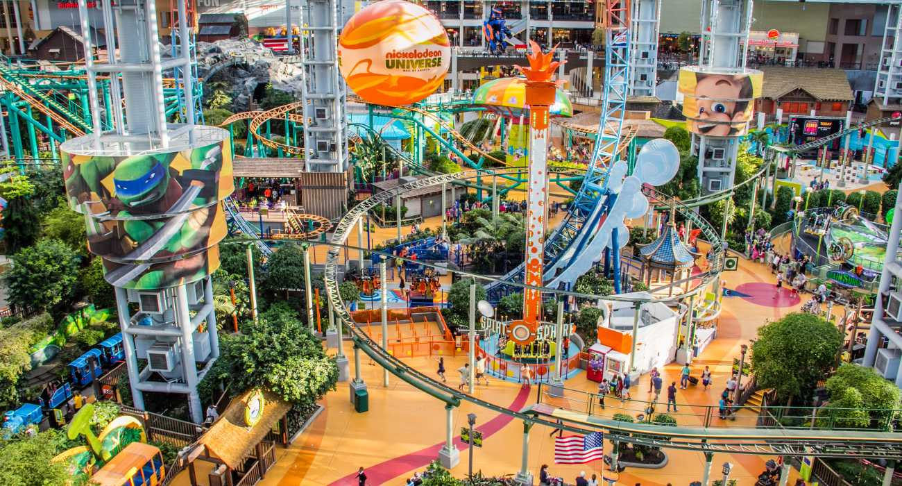 Visit the mall of america