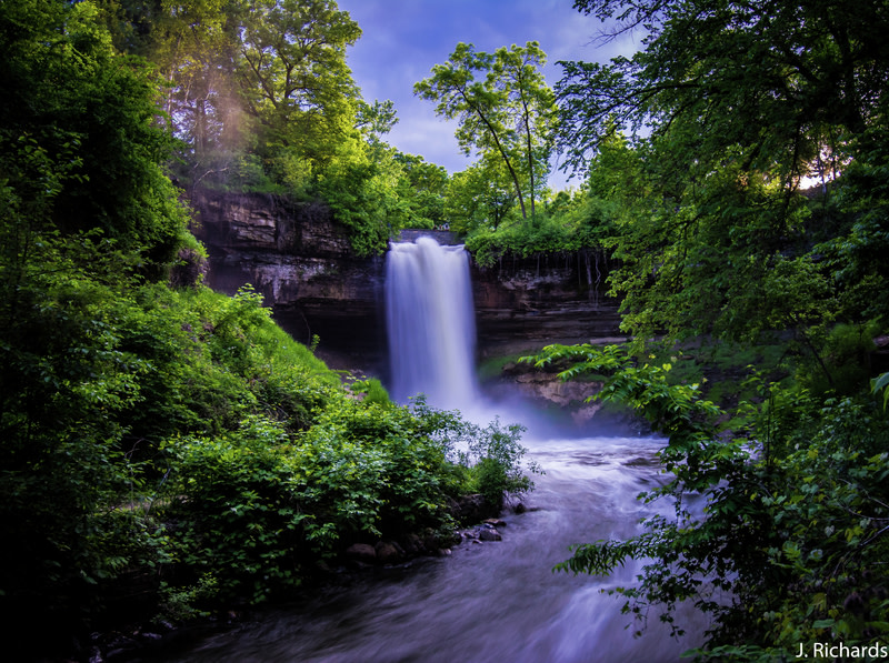 Great Place to Visit Minnehaha Falls