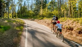 Visit some of the best bike trails